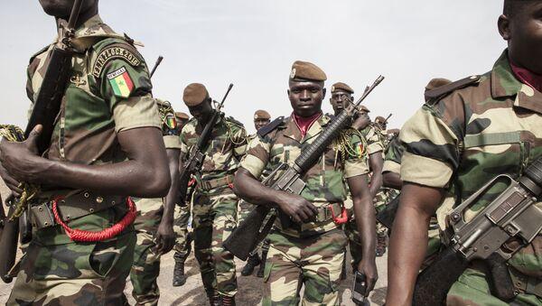 Soldados de Senegal - Sputnik Mundo