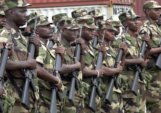 Fuerzas militares de la CEDEAO (archivo)