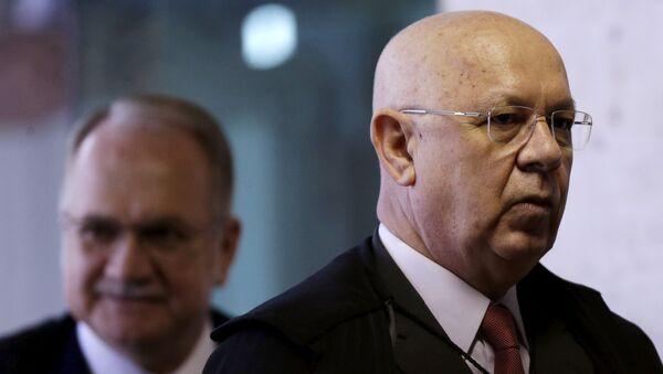 Teori Zavascki, magistrado del Tribunal Supremo Federal de Brasil - Sputnik Mundo
