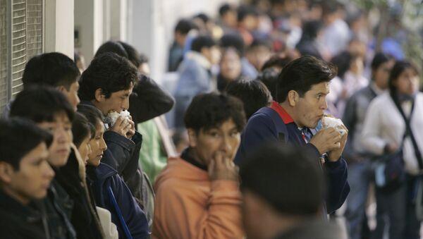 Migrantes en Chile - Sputnik Mundo