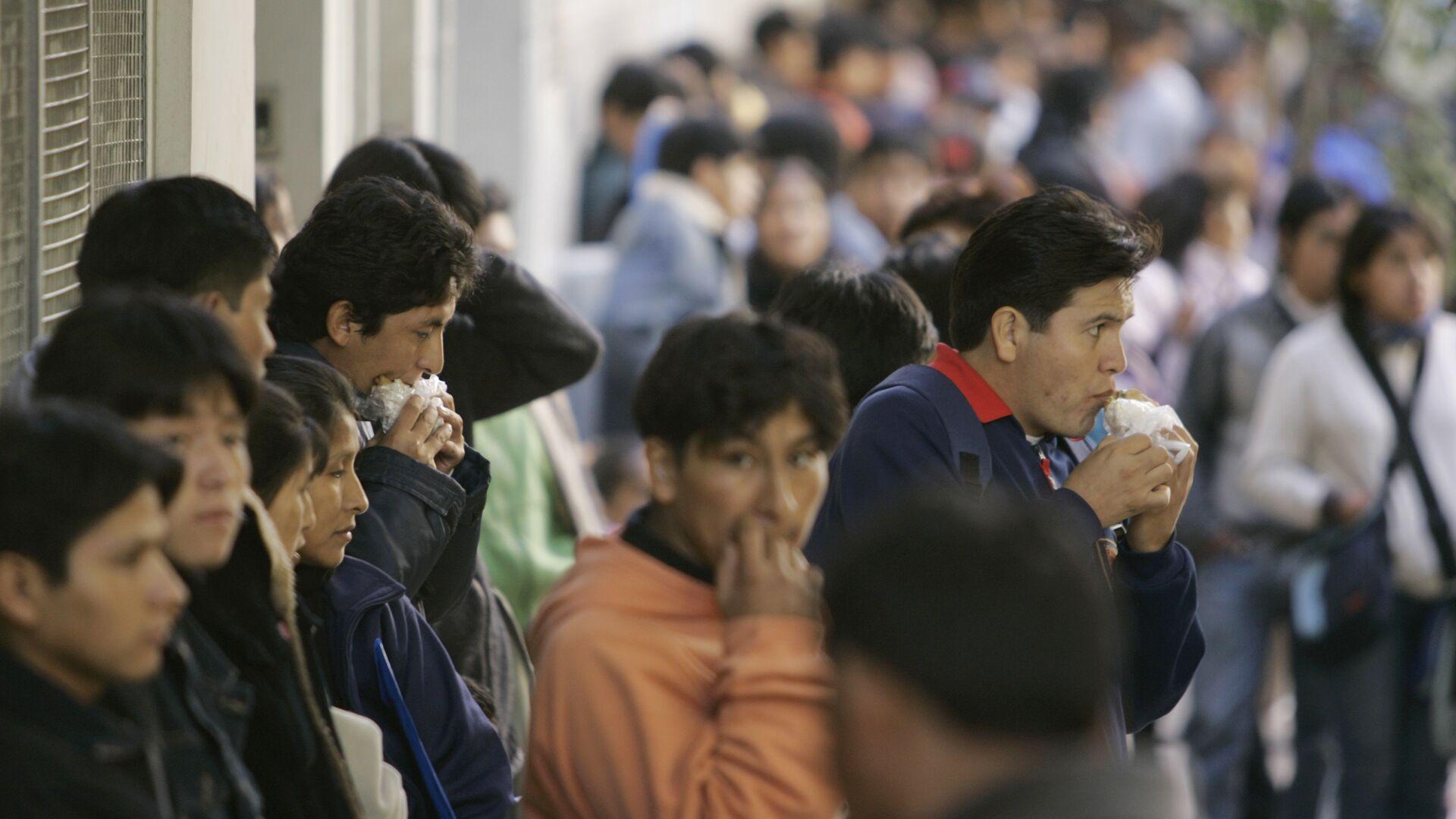 Migrantes ilegales en Buenos Aires - Sputnik Mundo, 1920, 27.08.2021