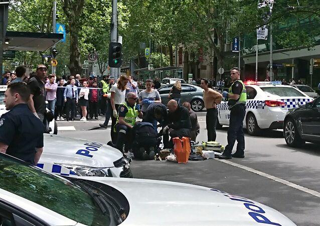 Un vehículo atropella a varias personas en la ciudad australiana de Melbourne