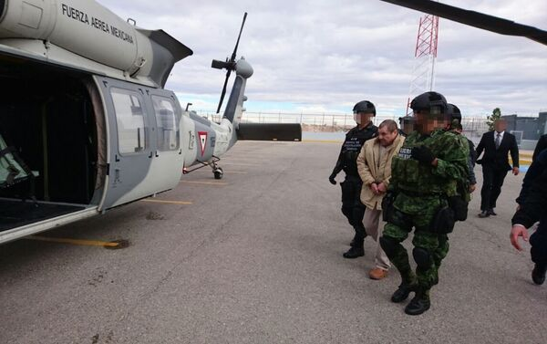 La extradición del narcotraficante 'El Chapo' Guzmán a EEUU - Sputnik Mundo