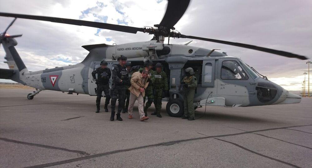 La extradición del narcotraficante el 'Chapo' Guzmán a EEUU