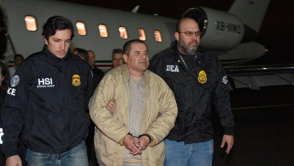 La extradición del narcotraficante el 'Chapo' Guzmán a EEUU - Sputnik Mundo