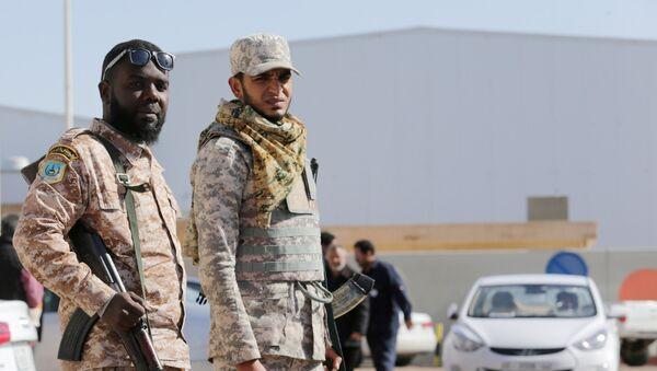 Los policías de Libia - Sputnik Mundo