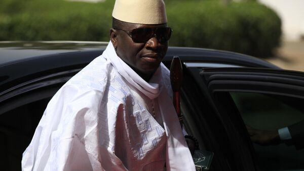 Yahya Jammeh - Sputnik Mundo
