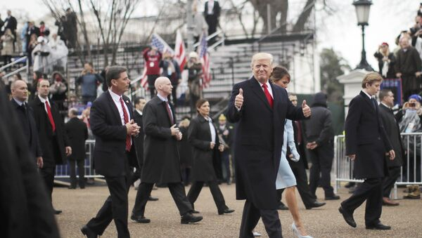 Desfile inaugural de Donald Trump - Sputnik Mundo
