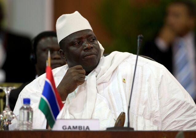 Yahya Jammeh, expresidente de Gambia