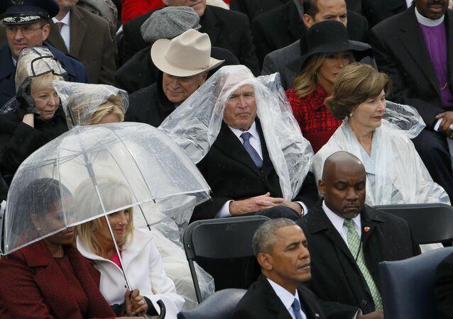 George Bush, exmandatario estadounidense