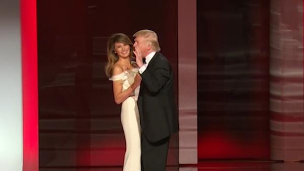 A mi manera: el baile inaugural de Donald y Melania Trump - Sputnik Mundo