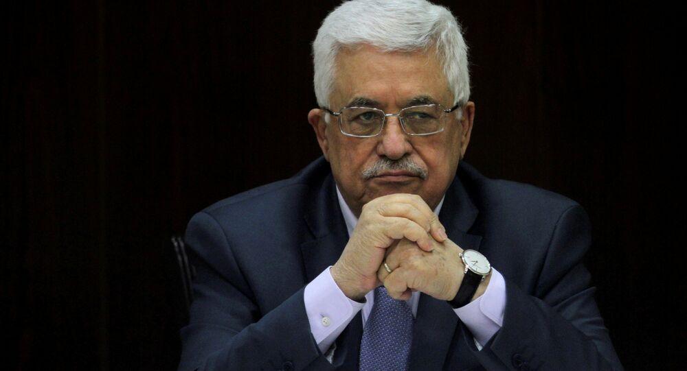 Mahmud Abás, presidente palestino (archivo)