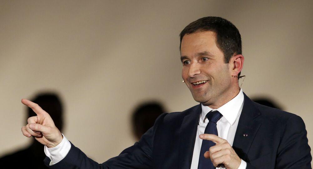 Benoit Hamon, ganador de las primarias del Partido Socialista Francés
