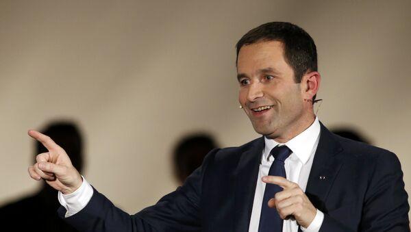 Benoît Hamon, exministro francés de Educación - Sputnik Mundo