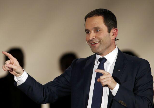 Benoît Hamon, exministro francés de Educación