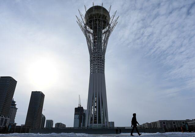 La ciudad kazaja de Astaná