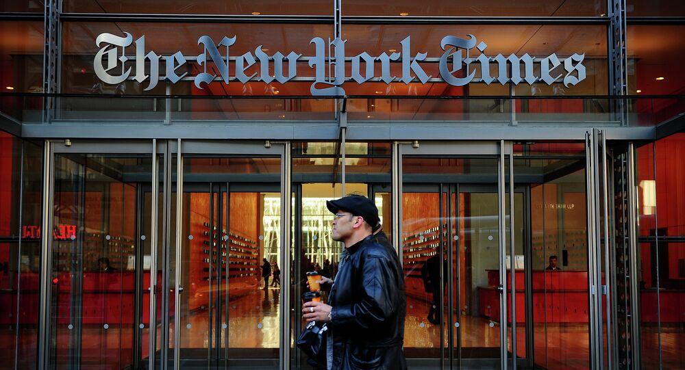 Edificio del  'The New York Times' in New York
