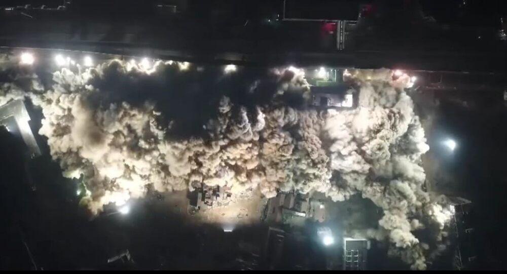 Demolición en China