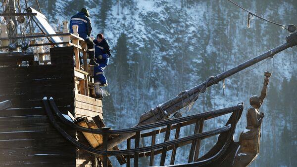 La Perla Negra de Jack Sparrow atraca en Siberia - Sputnik Mundo