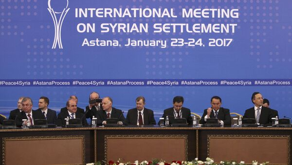 Las consultas sirias en Astaná - Sputnik Mundo