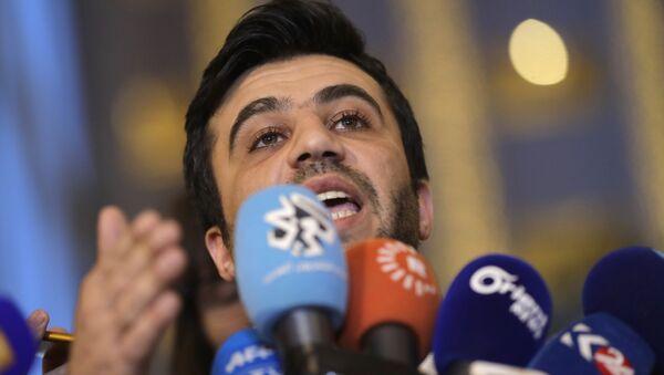 Isam Rais, miembro de la delegación de oposición siria en Astaná - Sputnik Mundo