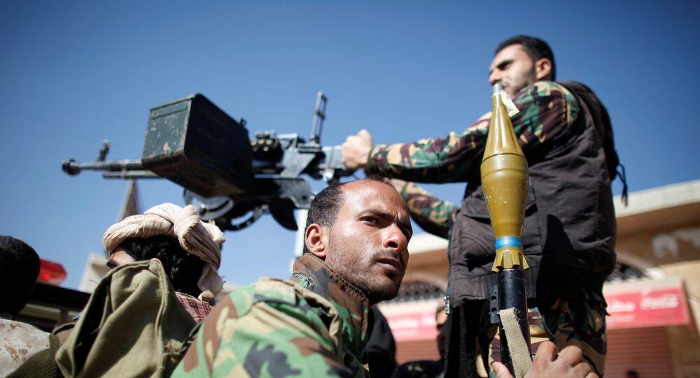 Militares yemeníes (archivo)