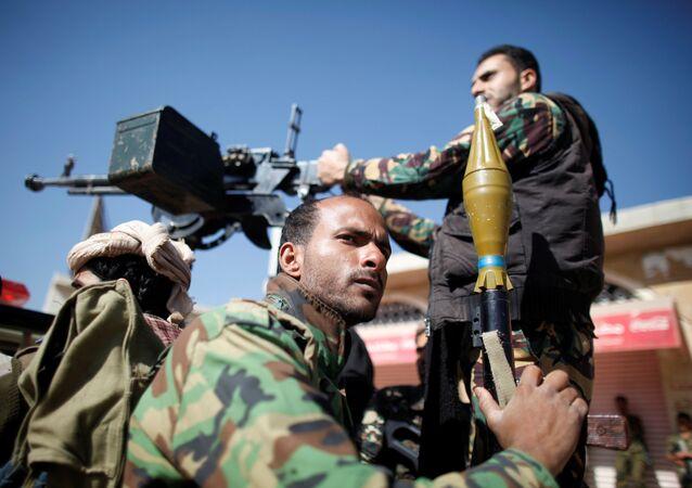 Militares yemeníes