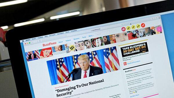 Informe de BuzzFeed News sobre Donald Trump - Sputnik Mundo