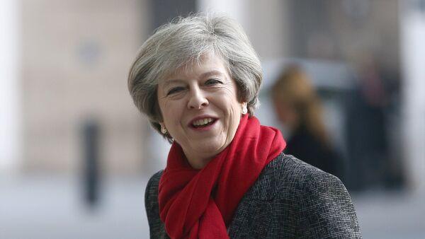 Theresa May, primera ministra británica - Sputnik Mundo