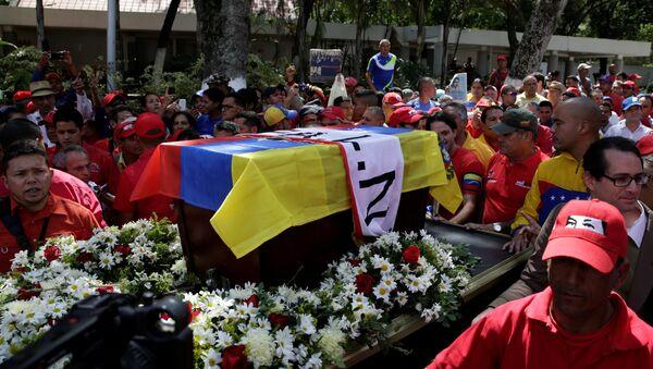 Conmemoración del activista Fabricio Ojeda en Caracas - Sputnik Mundo