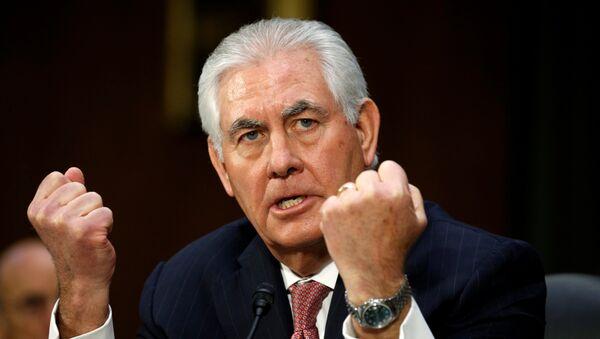 Rex Tillerson, nominado para secretario de Estado del Gobierno de EEUU - Sputnik Mundo