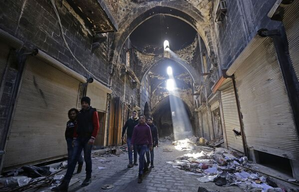 La historia en ruinas: monumentos de Alepo hoy - Sputnik Mundo