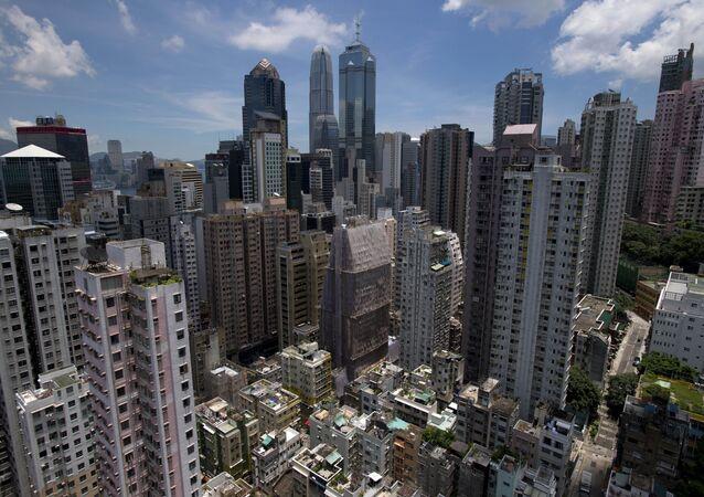 La ciudad de Hong Kong