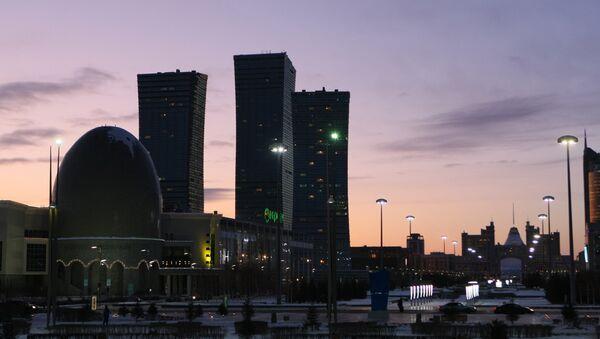 La ciudad kazaja de Astaná (archivo) - Sputnik Mundo