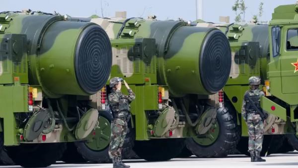 Misiles intercontinentales Dongfeng-41 (DF-41) - Sputnik Mundo