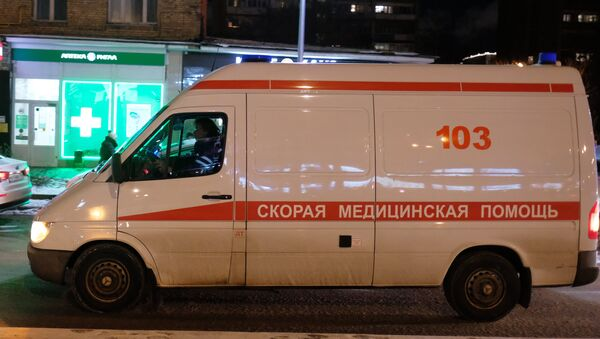 Una ambulancia rusa (imagen referencial) - Sputnik Mundo
