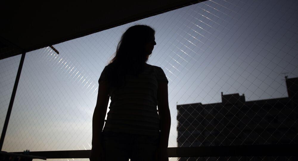 Silueta de una mujer (imagen referencial)