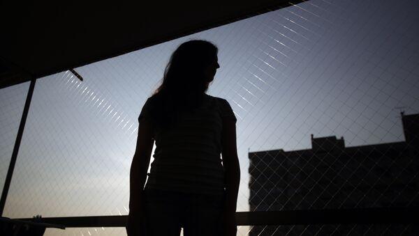 Silueta de una mujer (imagen referencial) - Sputnik Mundo