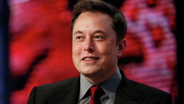 Elon Musk, director jefe de Tesla Motors y SpaceX - Sputnik Mundo