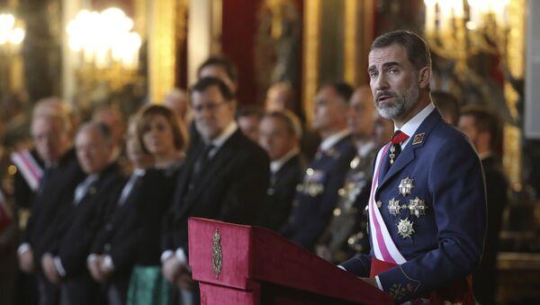 El Rey Felipe VI de España - Sputnik Mundo