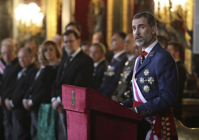 El Rey Felipe VI de España