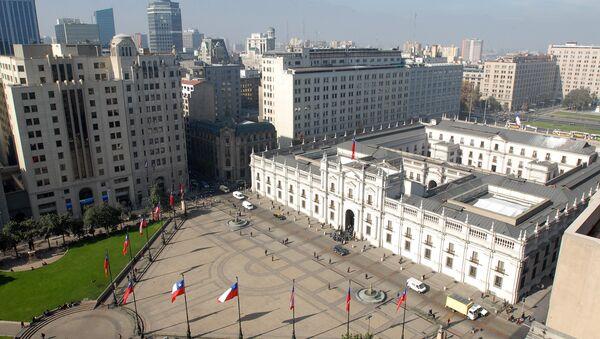 Palacio de la Moneda, en Santiago de Chile - Sputnik Mundo