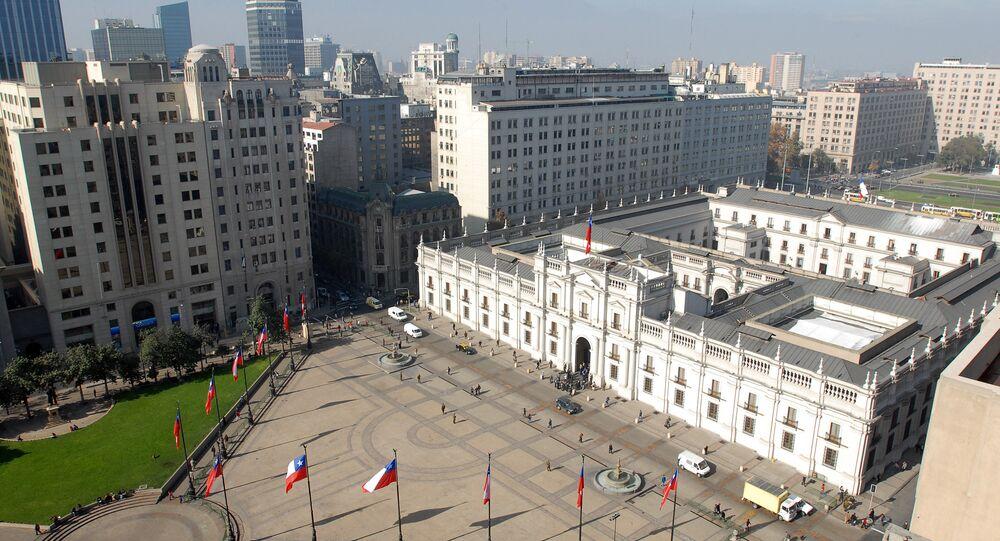 Palacio de la Moneda, en Santiago de Chile