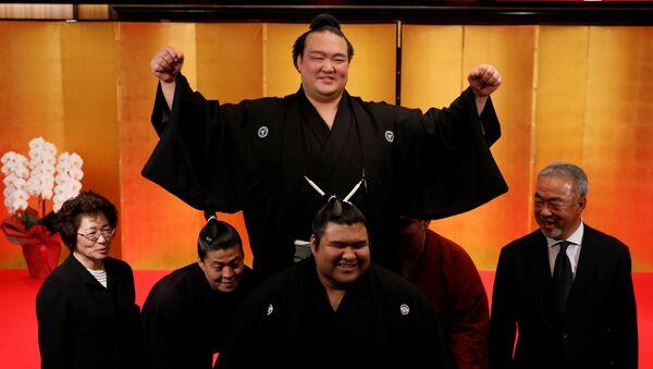 Ozeki Kisenosato, gran campeón del sumo - Sputnik Mundo