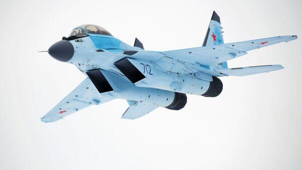 La presentación oficial del nuevo caza ruso MiG-35 - Sputnik Mundo