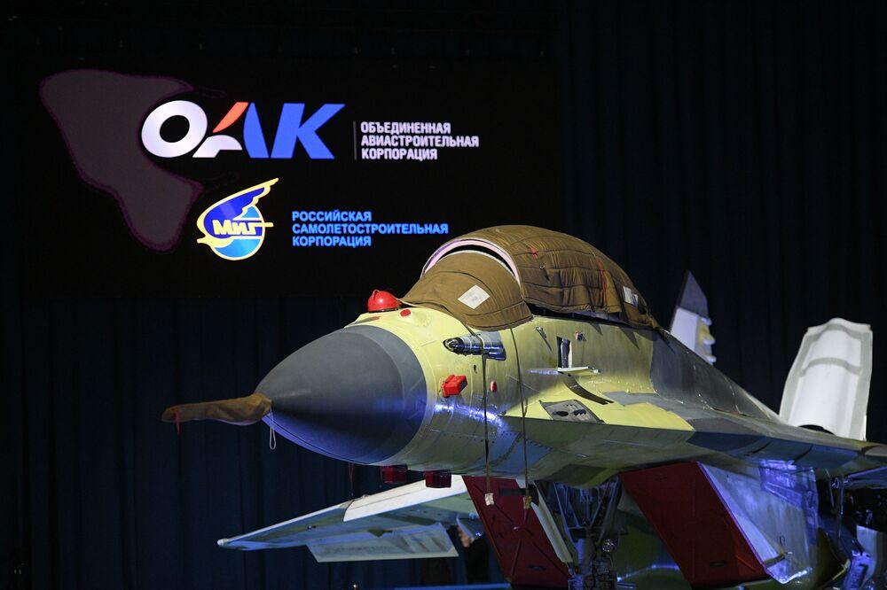 El nuevo caza ruso MiG-35 de generación 4++