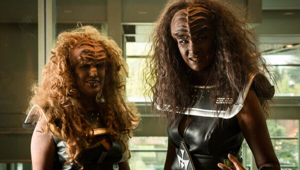 Las mujeres klingon (imagen referencial) - Sputnik Mundo