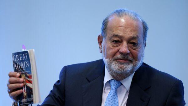 Carlos Slim - Sputnik Mundo