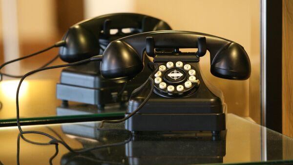 Teléfono (imagen referencial) - Sputnik Mundo