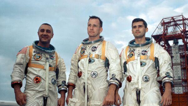 Gus Grissom, Ed White II and Roger Chaffee, participantes de la misión espacial frustrada Apolo 1 - Sputnik Mundo